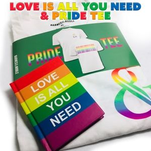 Pride Tee & Book Love is All You Need